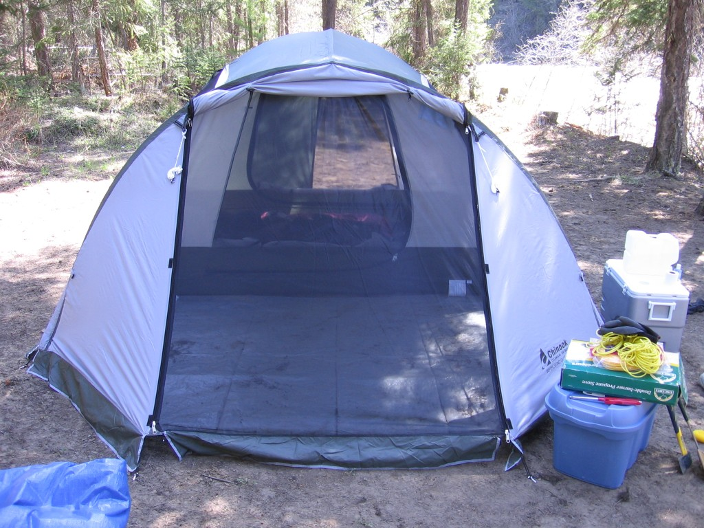 The ... & AndrewMartens.com » Review: Chinook Whirlwind Guide 5 Tent